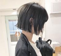 髪の量が多くてもこのような切りっぱなしボブにできますか??