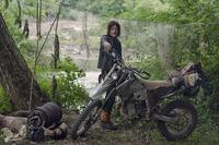 ウォーキングデッド/シーズン9~のダリルのダートバイク  ベースの車種わかる方いらっしゃいますか?(水冷?KLX?)
