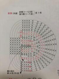 この編み図が分かりません。 鎖4目からはじまり楕円に11目編んだのですがその後どうすればいいのかまったくわかりません。左側は鎖目がないのにどうやって輪のようにあむのでしょうか?どなたかよろしくお願いし...