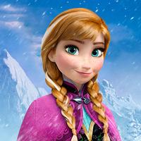 アナと雪の女王のアナの服は色鉛筆で何色を使いますか?