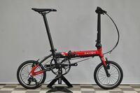 自転車通勤のことです。 現在、会社までの5.5km(多少の起伏あり)をアルベルト(L型27インチ5段)で通勤しています。 しかし、このアルベルトが重すぎてスピードが出なくて疲れるので、軽い自転車に買い替えようと思います。せっかくなので、部屋に置ける折りたたみ自転車を希望しています。 欲しい自転車は DAHON K3 です。軽くて走行性能が良く、かつ安めなので。友達(自称自転車オタク)に聞...