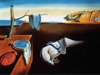 サルバドール・ダリが描いた記憶の固執の魅力を教えてください