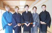 彩風咲奈さん以外で、この写真に写ってるジェンヌさんの名前を教えてください! あと、みんな雪組さんですか?