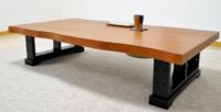 天板に沿ってビニールシートをカットするには? ダイニングテーブルを購入したのですが、サイド部分が波打っています。  真っすぐでないテーブルの天板に沿って、2mm厚のビニールシートをカットすることは可...