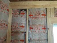 三井ホームで建築中です。 この断熱材の入れ方はありですか?