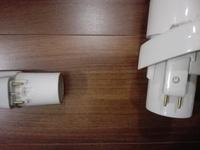 掃除機のホースを洗剤に漬け置きしてきれいにしたいのですが接続部分に金色のピンが付いています。 漬け置きはしない方が良いでしょうか?