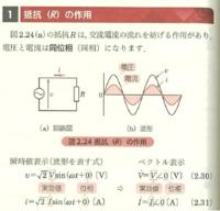 電流、電圧の波形について 図の電流と電圧の波形について傾きは同じなのに電圧の波形の方が大きいのは何か意味があるのでしょうか? それとも意味はないがなんとなく電圧の方の波形を大きくしているのでしょうか...