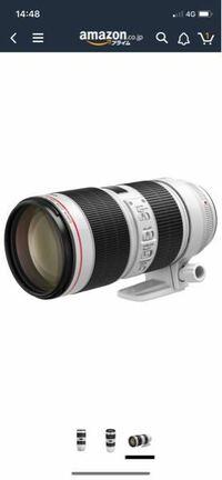 キヤノン EF70-200mm F2.8L IS IIIのレンズはCanon EOS 6D Mark IIの一眼レフに使えますか?
