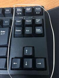 テンキーのみキーボードはよく売ってますけど ここの白枠の中のみのキーボードって売ってますか?