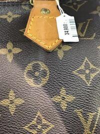 某有名リサイクルショップに売られていたルイヴィトンのバッグを見たところ、刺繍がひどい事になっていました。偽物ですか?