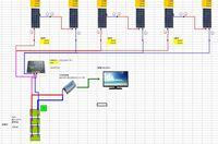 図のようなソーラーパネルとチャージコントローラーとバッテリーのシステムで、日中太陽光パネルが発電しているとき、 インバーターを動かすとAのバッテリーの電力とパネルの電力どちらが優先的に使われるのでし...