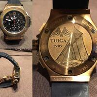 このHUBLOTの時計本物か偽物かわかりますでしょうか?