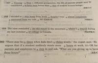 高校生の英語の問題です。 次の問題の答えと和訳と、できればなぜその答えになるのかを教えて欲しいです。 お願いします  高校英語