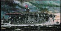 太平洋戦争時のドラマだったか映画を観ていたら、旧日本海軍の空母で参謀が戦闘機での攻撃を進言していました。 司令長官は、今戦闘機を出すと帰ってくる頃には夜間での着艦になる夜間での着艦訓練は不十分だ攻撃...