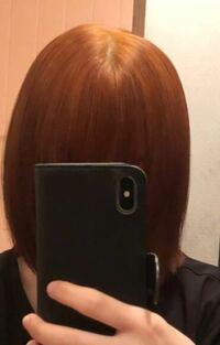昨日1回セルフでブリーチをしてオレンジのようなカラーになりました。毛先は茶髪で上がオレンジです。 ここからもう1回セルフでブリーチする予定なのですが、もう一度ブリーチすると青は入りますか? ネイビーブ...