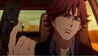 アニメの作品名とキャラの名前がわからないので質問させてください 茶髪の男性キャラクターです。 よろしくお願いします。