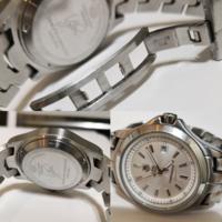 偽物でしょうか?昔タグホイヤーの時計を譲り受けたのですが、数年前に電池が切れて止まったっきり放置してましたが、本物であれば電池交換をしてまた使おうかと考えています。