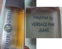 ヴェルサーチ ピンクジーンズ? 数年前に海外でいわゆるジェネリックのフレグランスで「ヴェルサーチ ピンクジーンズをインスパイア」と書いたものを購入しました。 もとの香水を知りませんが、とても気に入り安...