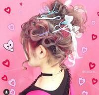 美容師さんでこの髪の毛のハートの部分をヘアセットして欲しいと言ったらやってくれますかね? 難しいから無理と断られないですか??