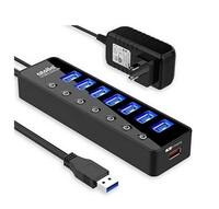 USBハブについておしえてください。  外付けHDDが20個あります。 一度に接続するのは4~5個程度で、USB口のたくさんついているUSBハブをさがしたところ、バスパワーのものは無いようです。 USB口が多くなると電源が必要になるのはなぜでしょうか?