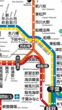 武蔵野線、京葉線 路線図を見ると武蔵野線が西船橋から二股になってますが、どういう運転をしているのですか?