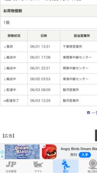 佐川急便で千葉県より1日に発送して静岡県に3日に到着しました。 ネットだと翌日になっていますが翌日ではありません。 何故でしょうか?