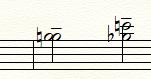 Finale 25で楽譜を書いています。 パソコン環境はWindows10です。  写真の様に、2つの符頭を同じレイヤーで入力するには、どういった方法がありますか? 別のレイヤーで入力し、片方の符尾を 「道具箱ツール...