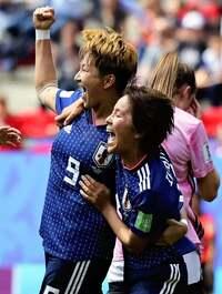 なでしこジャパン!スコットランド戦勝利おめでとう。  女子日本代表のプレー、レベル高くて良かった。(^o^)  ご感想ありますか?