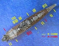 戦艦大和の最後。日本側とアメリカ側の報告が大幅に違うのは、 どうしてなんでしょうか? 日本側の記録だと魚雷11本前後、爆弾3-5発、 アメリカ側の記録だと魚雷33本から35本、爆弾38発命中。 http://zekamashi...