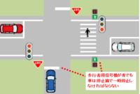 歩行者用信号だけの交差点は、 「交通整理の行われていない交差点」に分類されているのでしょうか??