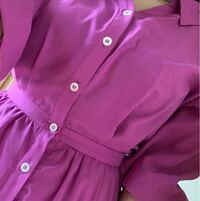 至急お願いします。 最近気温が低めなので春に買った紫色のワンピースを今日着ていこうかと思うのですが今着ていくのに季節外れではありませんか?不安なので教えてください!