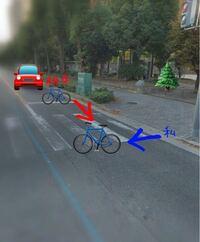自転車同士の接触について。 昨日、自転車同士で接触を起こしました。 私は横断歩道(自転車横断帯は無し)で信号待ちをしていて、信号が青になったので自転車で渡りはじめて数秒後衝撃が走りました。 右方向から車...