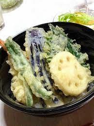 野菜天丼 牛丼 どっちが好き?