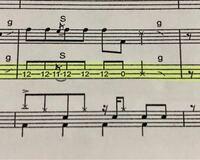 軽音部のベース初心者です。 ここの部分の弾き方なんですけど、 ①Sと書いてある部分の弾き方 ②Sの意味 ③ここの弾き方のコツ を教えていただきたいです。 よろしくお願い致します。