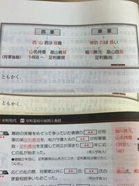 上が日本史B講義の実況中継、下が東進の一問一答なのですが、書いてあることが逆です。どっちが合っているんですか?