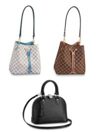 ルイヴィトンのバッグを購入するのに悩んでおります。 詳しいかた、製品をお使いのかた、 アドバイスお願い致します。  候補は、 ネオノエ ダミエアズール ブルーエ ネオノエ ダミエエヌベ ヴィーナス アルマBB エピ ノワール です。  これから毎日長い間使えるバッグが理想です。 この3つの中なら、どのバッグがおすすめですか?