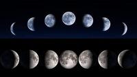 月の満ち欠けは満月の外側から欠けていくのか内側から欠けていくのかどちらが正しいのですか?