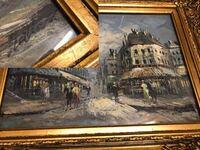 絵画、油絵の作者について詳しい方に質問です。 誰の作品かわからないので、教えて頂ければ嬉しいです。 よろしくお願い申し上げます。