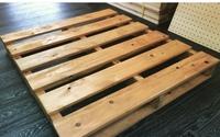 すのこの作り方について教えて下さい。  ベッドボード を作ろうと考えています。  画像のようなものを作ろうと思っているのですが、檜やパイン材で作る場合その後塗装はした方が良いのでし ょうか?木本来の...