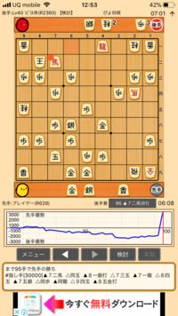 私は将棋初心者なのですが、この局面で相手コンピューター(後手)が投了したのですがなぜですか?