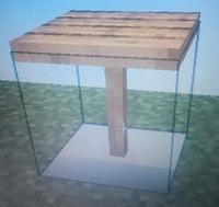 マインクラフトのテクスチャをBlockbenchで変えて遊んでいたのですが、ブロックを変えても地面が透けてしまいます。完全な立方体のブロックでは難しいのでしょうか。