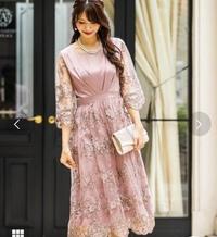結婚式、披露宴のドレスについて  9月に結婚式、披露宴に着ていくドレスを探しています。画像のドレスが気になっているのですが、結婚式に着ていっても大丈夫でしょうか?ご意見をいただけま すと幸いです。よろしくお願いいたします。
