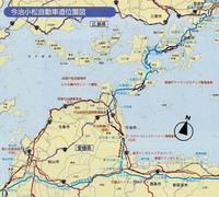 松山自動車道何故今治市を経由していないのですか? また、しまなみ海道も何故松山自動車道に接続していないのですか?