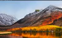 添付画像のようにiMACのデスクトップに小さな画像が残ってしまいます。  この残った小さな画像はファインダー内で複数のアイコンを選択して移動させた時に、かなりの高確率で起きます。 サファリやファインダー...