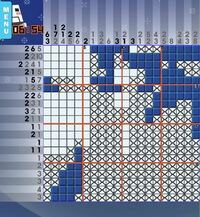 このロジックスクエアパズルが解けません、解き方を教えてください。