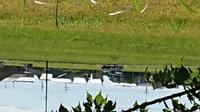 フォークリフトの公道を走行及び荷物運搬での質問です、写真の説明ですが、市道での出来事ですが、左側には、軽トラとトラックが在りますが、そこよりフォークリフトで、フレコンの肥料を、吊り上げながらの走行...