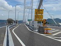 しまなみ海道こと西瀬戸自動車道の大島南IC〜今治北IC間には「馬島」という小さい島があり、その島民専用のICがあります。 その島と無関係な一般の利用者の場合は如何すれば利用できるのですか?