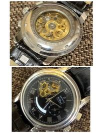 こちらゼニス の腕時計ですが偽物でしょうか??