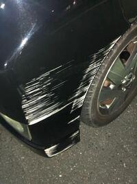 この擦り傷の場合 修理代っていくらしますかね、、、 へこみはなかったです