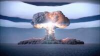 『チャーリーブラウンとスヌーピー』の光景写真です。似てませんか?  ツァリーボンバ【露: Царь-бомба、英: Tsar Bomba、】核爆弾の皇帝と きのこ雲にそっくりですね!? 苦悩の表情のチャーリーの眉に(Царь-...